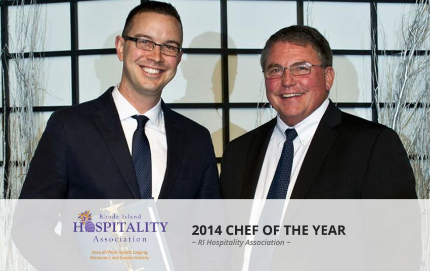 Chef 2 Go Nick Rabar named RI Hospitality Association Chef of the Year